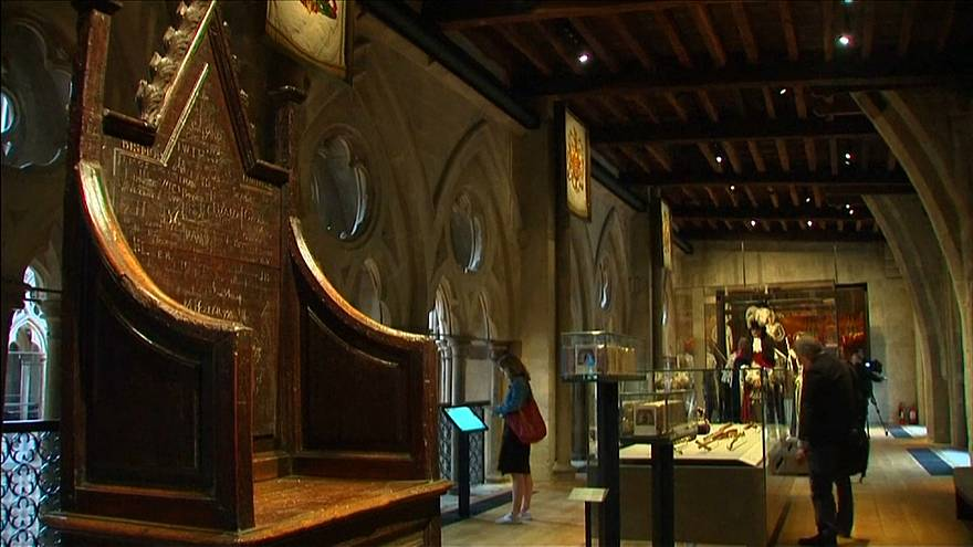 دير ويستمنستر يعرض كنوزاً تاريخية لأول مرة أمام سياح لندن