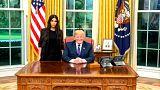 ترامب يستقبل كيم كرداشيان في البيت الأبيض للحديث عن أوضاع السجون