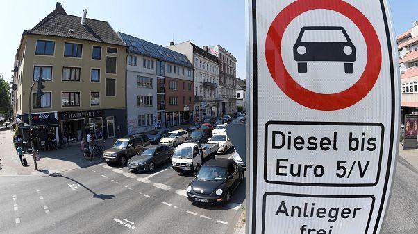 Hambourg interdit partiellement le diesel