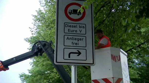 Amburgo, parzialmente al bando i veicoli diesel