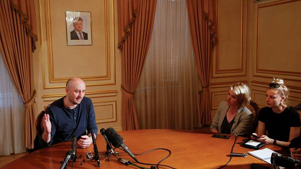 Babchenko says he was covered in pig's blood for fake death ruse