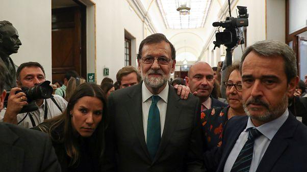 """Bascos """"tiram tapete"""" a Mariano Rajoy"""