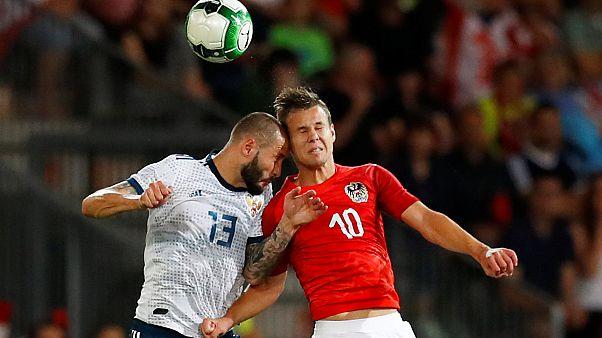 Österreichischer Dämpfer für WM-Gastgeber Russland