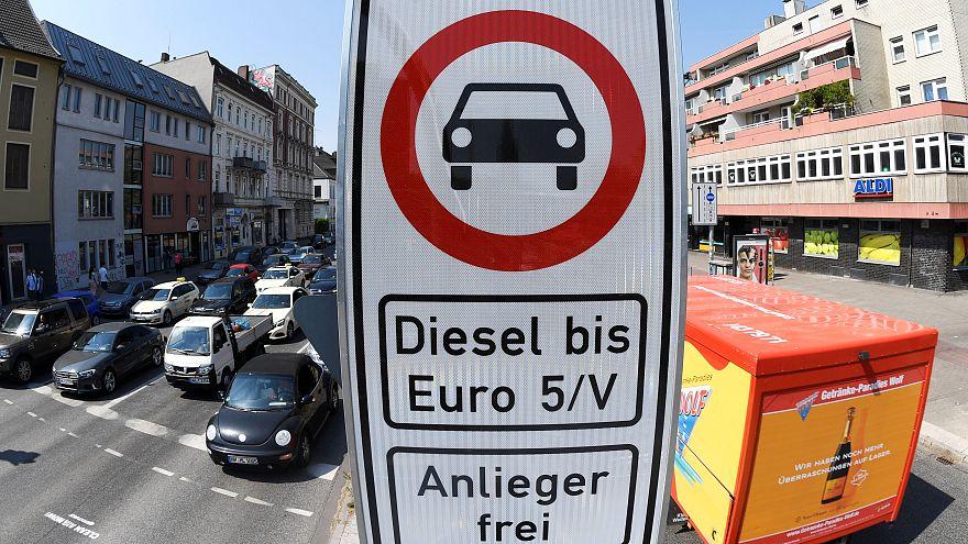 Gegen miese Luft: Hamburg setzt Dieselfahrverbote in Kraft