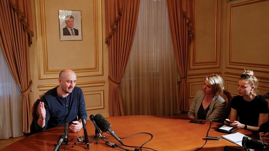 """Babtschenko zu Details über seinen """"Mord"""""""