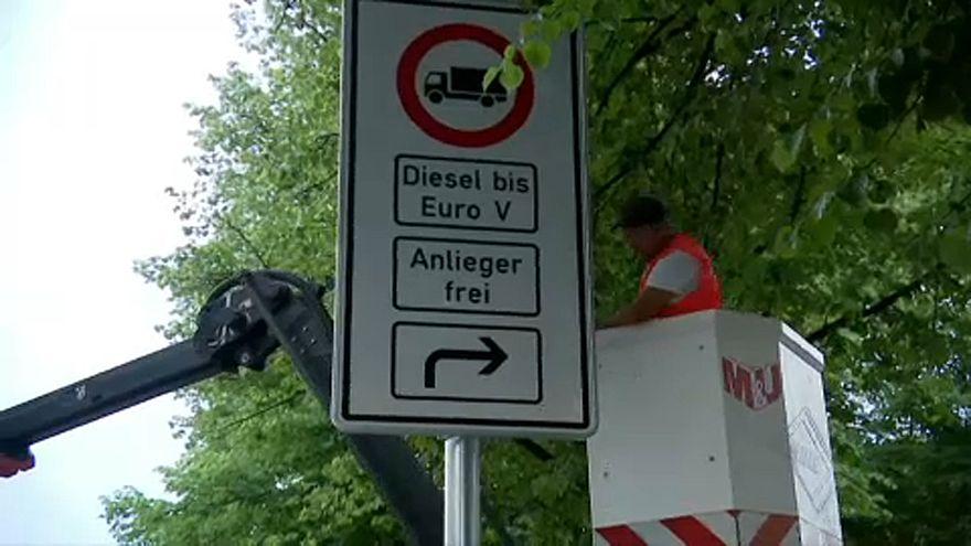 Dízeltiltás Hamburgban