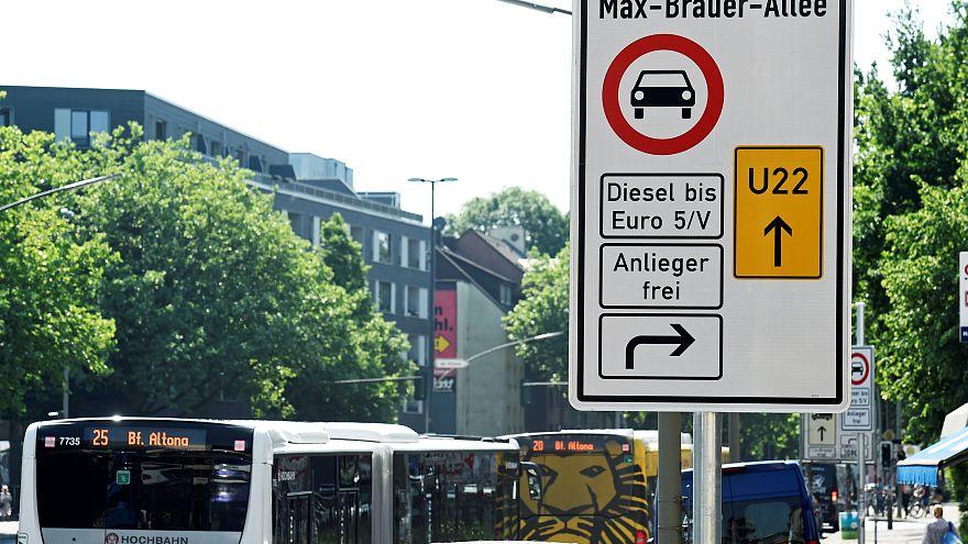 Hamburgo limita circulação de veículos a diesel