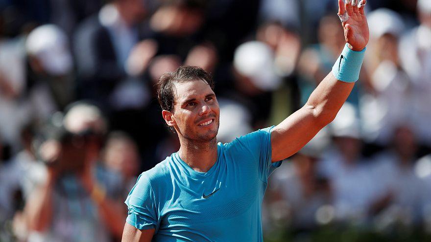 Roland-Garros : Nadal sans problème