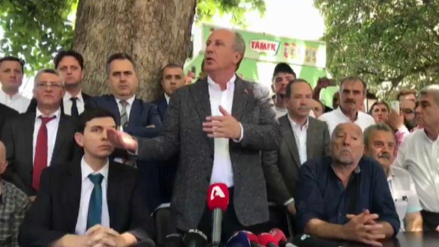 Muharrem İnce: Yunanistan ile her şey karşılıklı