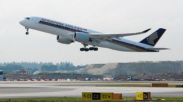 طولانی ترین پرواز بدون توقف جهان میان سنگاپور و آمریکا