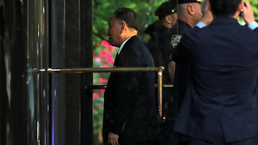 North Korean envoy Kim Yong Cho arrives to meet U.S. Secretary of State