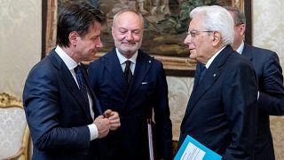 غوسبي مع الرئيس الايطالي