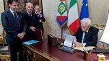 Ιταλία: Ορκίζεται η κυβέρνηση Λέγκας - Πέντε Αστέρων