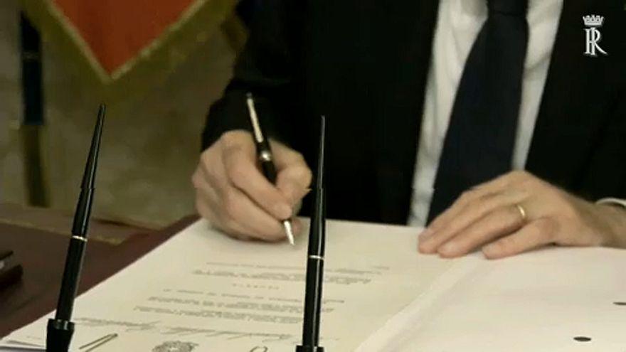 Munkába áll az olasz kormány