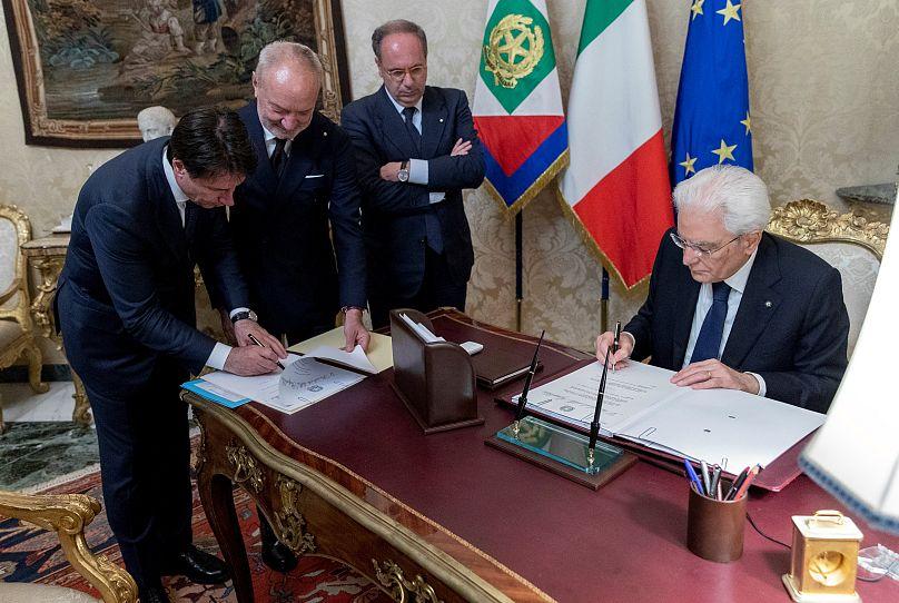 Presidencia italiana/vía REUTERS