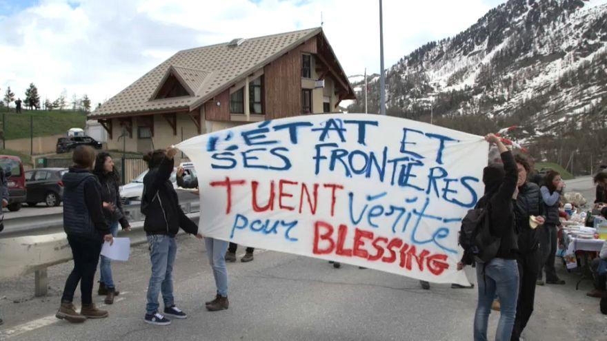 O fluxo de migrantes e a tensão na fronteira franco-italiana