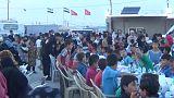 شاهد: إفطار جماعي للأيتام السوريين بالقرب من اسطنبول