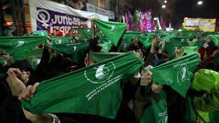 Droit à l'avortement : l'Argentine en marche