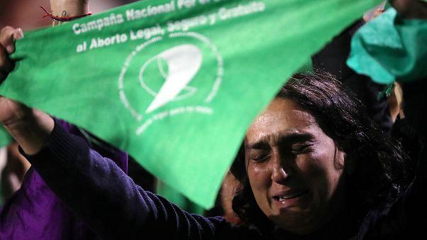 Μπουένος Άιρες: Διαδήλωση υπέρ του δικαιώματος στην άμβλωση