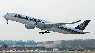 طائرة من طائرات الخطوط الجوية السنغافورية - المصدر: رويترز، أرشيف.