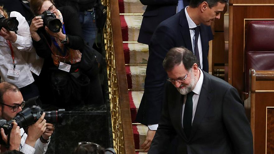 البرلمان الاسباني يحجب الثقة عن ماريانو راخوي ويختار بيدرو سانشيز رئيسا للحكومة