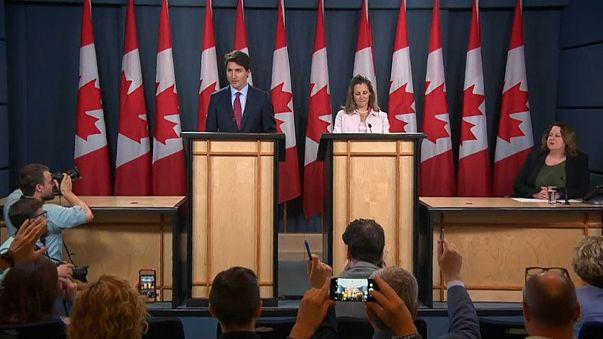 Canadian President Justin Trudeau