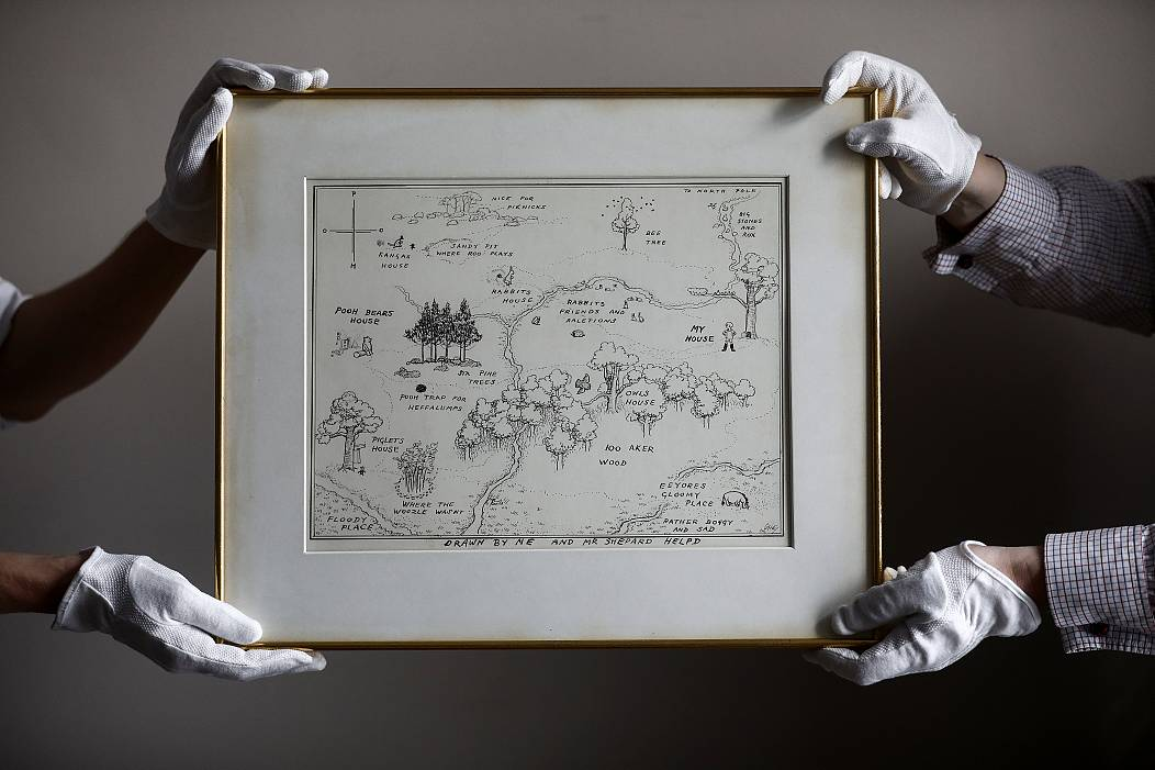 4341c10ded99 Original Winnie-the-Pooh sketches for sale
