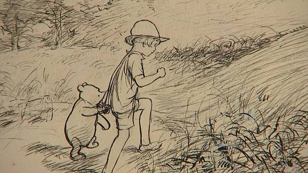 Original Winnie-the-Pooh sketches for sale