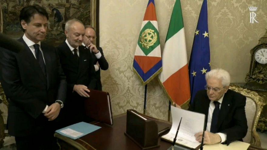 İtalya'da yeni hükümet yemin ediyor