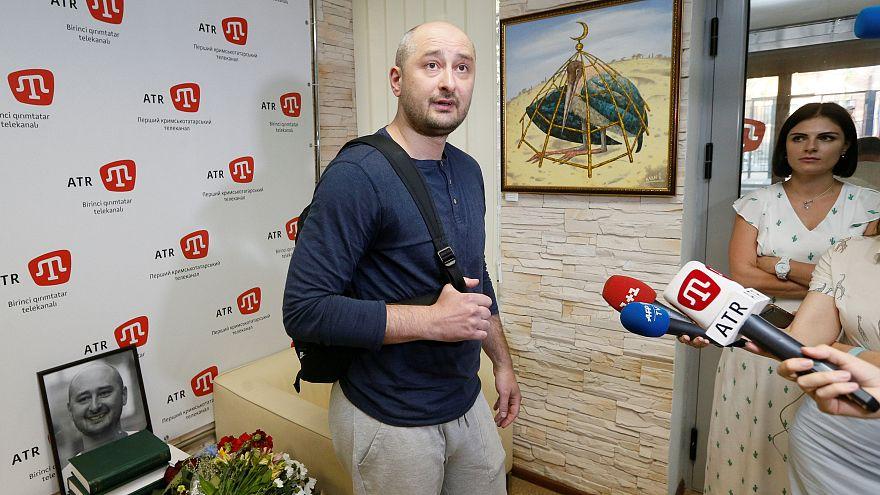 Rus gazeteci Babchenko'nun sahte suikast girişiminde hapis kararı çıktı