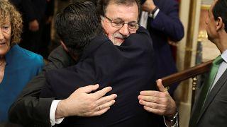 Rajoy reaparece en el Congreso para despedirse