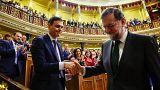 Pedro Sánchez se convierte en el nuevo presidente del Gobierno español