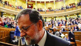 La moción de censura a Mariano Rajoy en imágenes