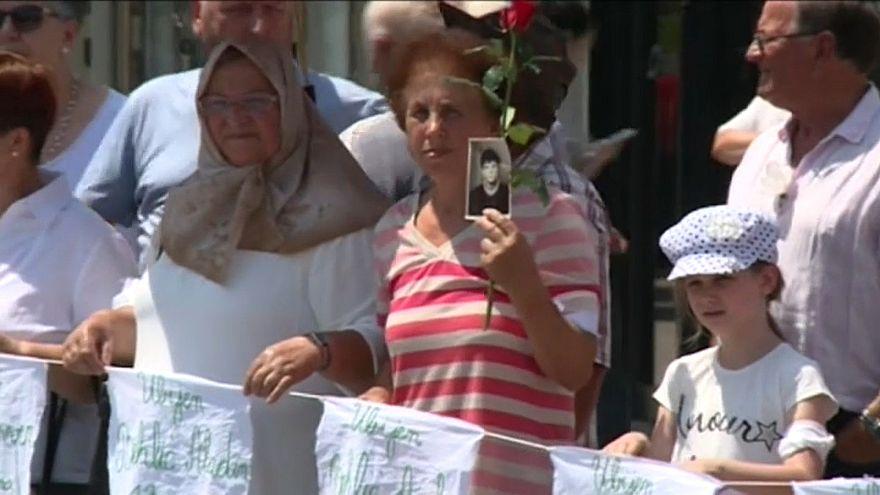 Bosna'da 'Beyaz Kurdele Günü' anıldı