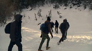 France: Tension rises as migrants brave the Alps