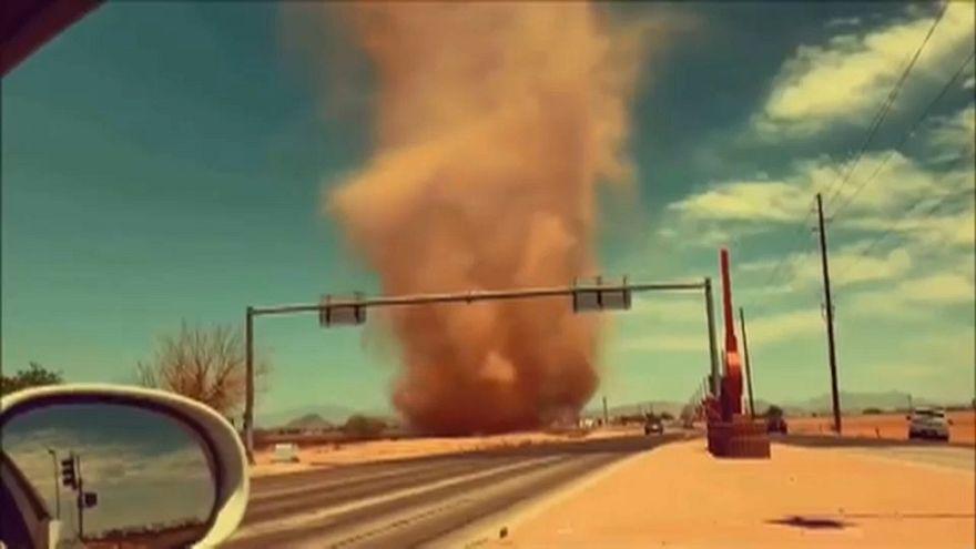 Diable de poussière en Arizona