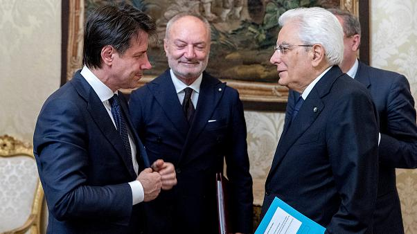 Italy's president swears in new populist coalition government