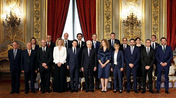 İtalya'da Giuseppe Conte hükümeti göreve başladı