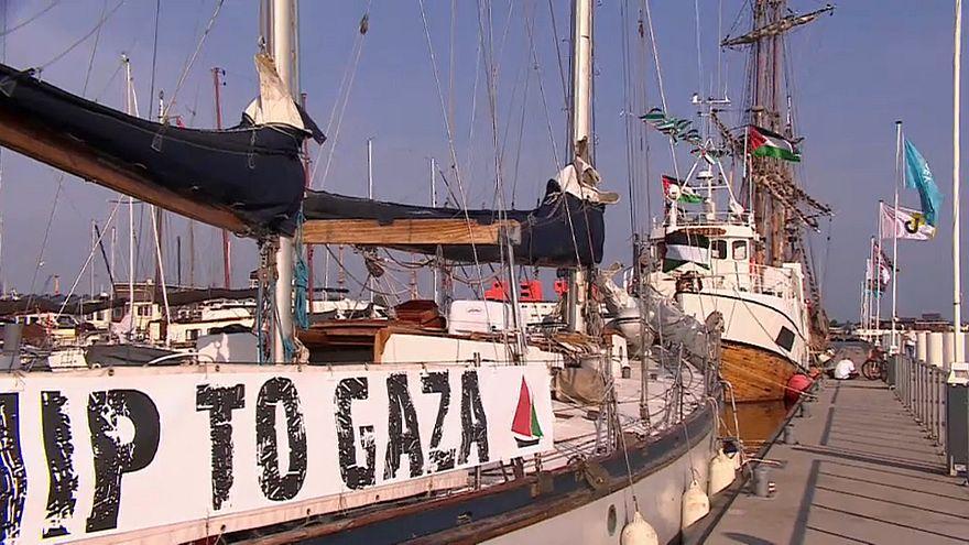 Flotilha a caminho de Gaza