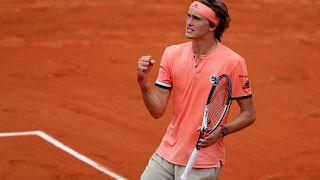 Roland-Garros : Djokovic et Zverev dans la douleur