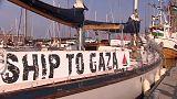 Gaza-Flottille will Blockade brechen