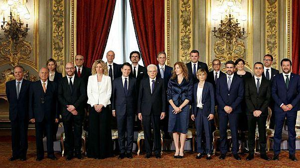 به قدرت رسیدن عوامگرایان در ایتالیا؛ نخست وزیر جدید سوگند یاد کرد
