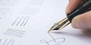 Montblanc preserves the spirit of handwriting
