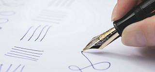 Montblanc preserves the spirit of handwriting