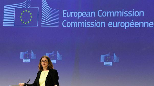 La Commissaire européenne au Commerce Cecilia Malmström