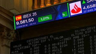 Erősödtek a spanyol és olasz részvények