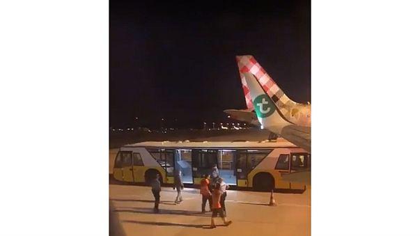 Plane makes emergency landing after passenger emits 'horror' smell