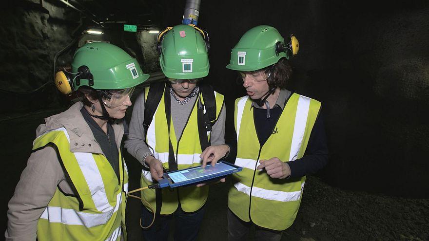 3D σκάνερ ελέγχει χώρους αποθήκευσης πυρηνικών αποβλήτων