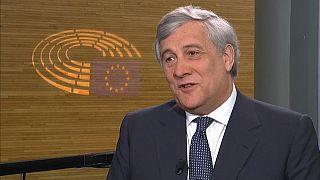 """Tajani: """"Los italianos somos libres para decidir nuestro futuro"""""""