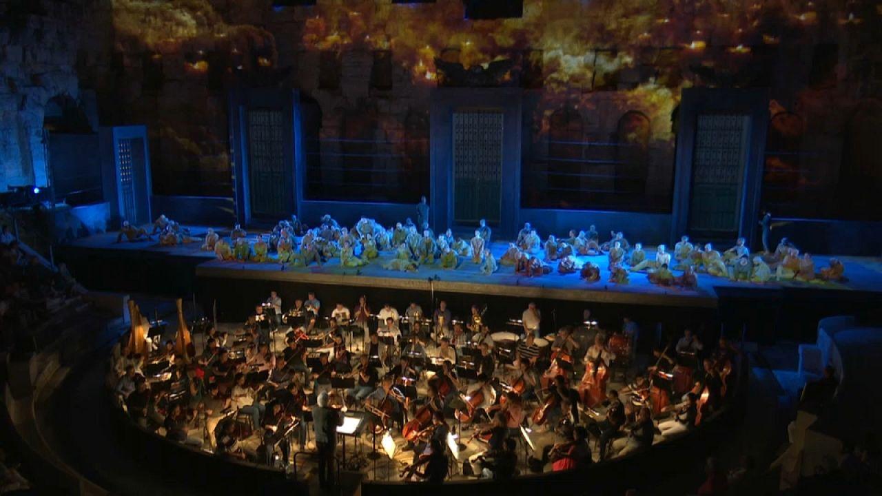 Verdi'nin Nabucco operası gösterişli sahnesiyle Atina'da sergilenecek